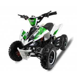 XTREME MONSTER 800w QUAD BIKE IN WHITE/ GREEN