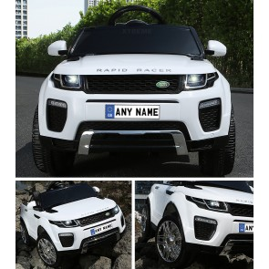 Xtreme 12V Ride on Range Rover Evoque Style Car in White