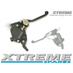 MINI MOTO/ BIKE/  QUAD / THUMB THROTTLE RESTRICTOR WITH BRAKE LEVER 49 - 50cc