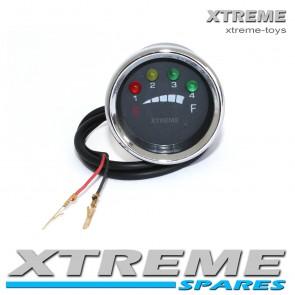 ELECTRIC XTM DIRT BIKE BATTERY INDICATOR 24- 36v