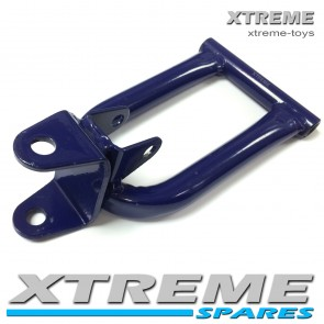 MINI XTM MONSTER QUAD BIKE LEFT SIDE WISHBONE IN BLUE