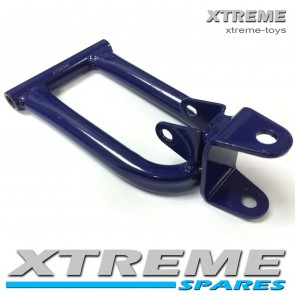 MINI XTM MONSTER QUAD BIKE RIGHT SIDE WISHBONE IN BLUE