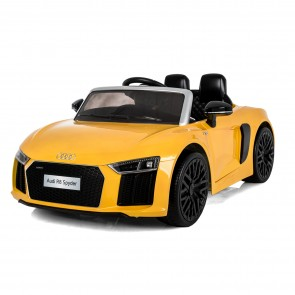 Xtreme 12v Official Licensed Audi R8 Spyder Ride on Car in Yellow