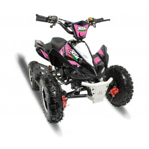 2017 LATEST DESIGN MONSTER 50cc QUAD BIKE IN BLACK/ PINK