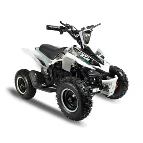 XTREME MONSTER 800w QUAD BIKE IN WHITE
