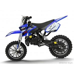 CRX RACE 50cc MINI DIRT BIKE IN BLUE