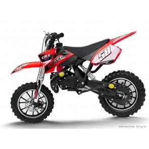 CRX RACE 50cc MINI DIRT BIKE IN RED