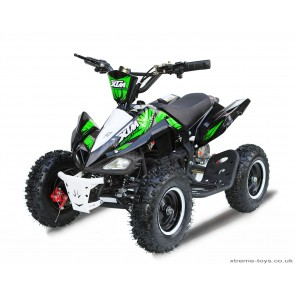 2017 LATEST MODEL XTREME MONSTER 800w QUAD BIKE IN BLACK/ GREEN