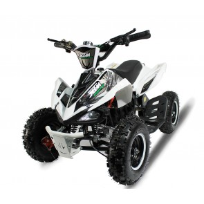 XTREME MONSTER 800w QUAD BIKE IN WHITE SILVER