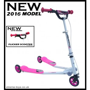 XTREME FLICKER 1 SCOOTER WHITE/ PINK