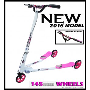 XTREME FLICKER 3 SCOOTER WHITE/ PINK