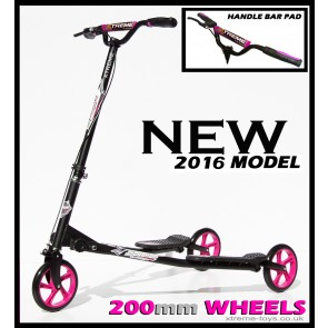 XTREME FLICKER 4 SCOOTER BLACK/ PINK