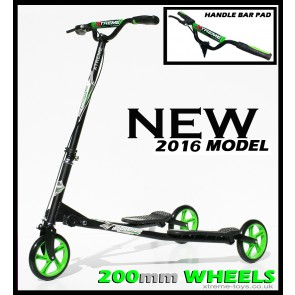 XTREME FLICKER 4 SCOOTER BLACK/ GREEN