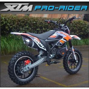 NEW XTM PRO-RIDER 50cc MINI DIRT BIKE IN ORANGE