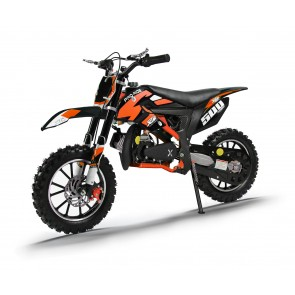 XTM PRO-RIDER 50cc DIRT BIKE BLACK ORANGE