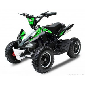 2017 LATEST DESIGN MONSTER 50cc QUAD BIKE IN BLACK/ GREEN