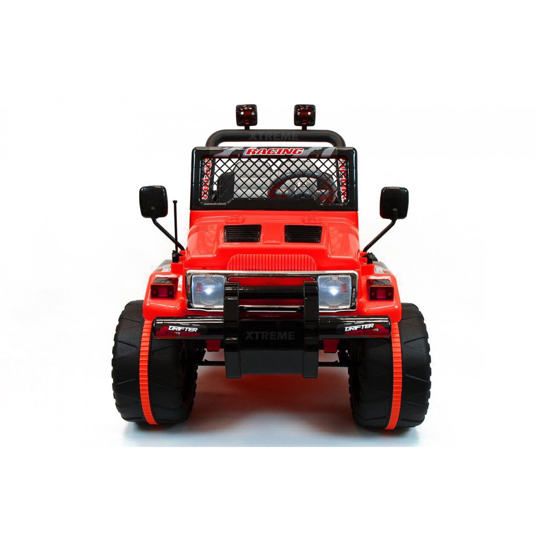 Xtreme 12v Ride on Off-Road Jeep in Red