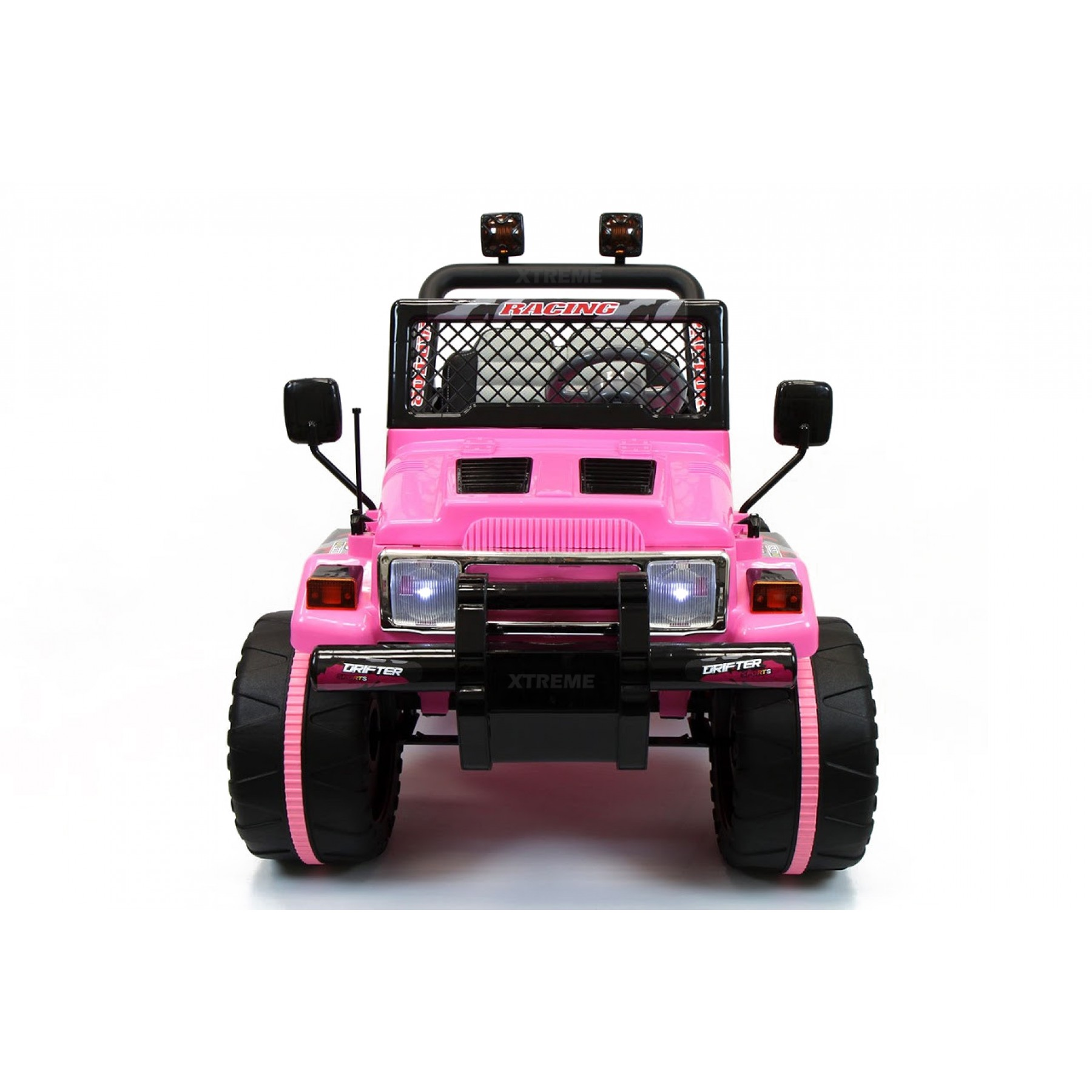 Xtreme 12v Ride on Off-Road Jeep in Pink