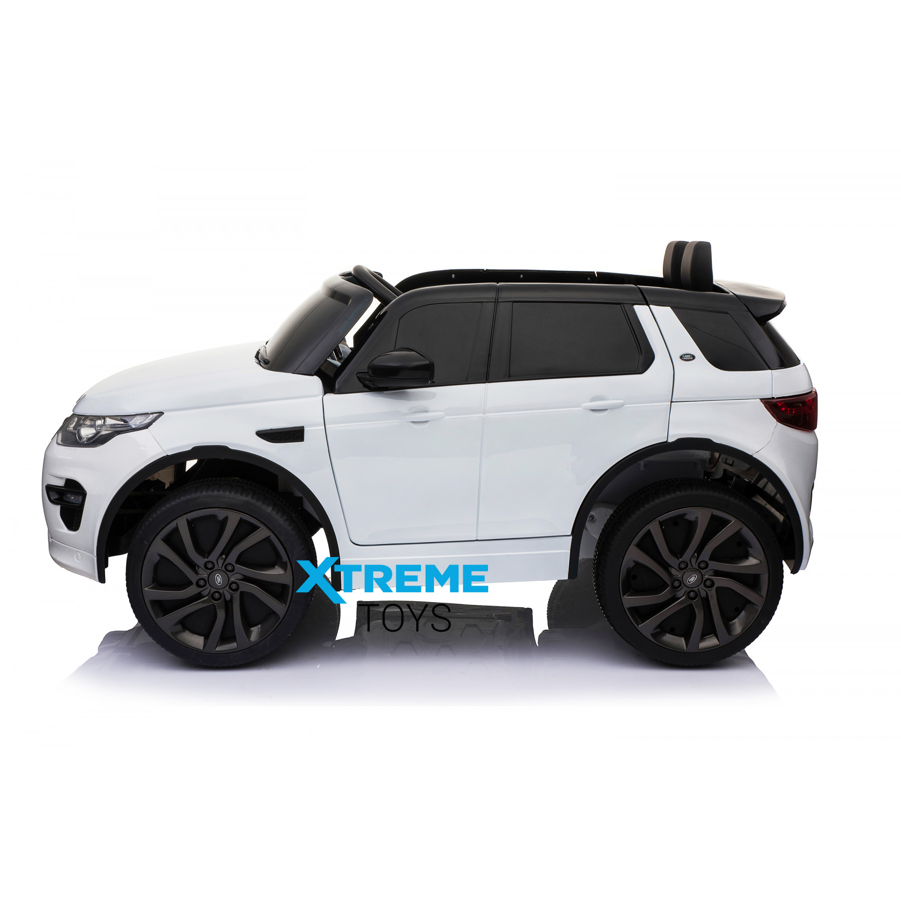Xtreme 12V Licensed Land Rover Discovery Sport Ride on Electric Car White