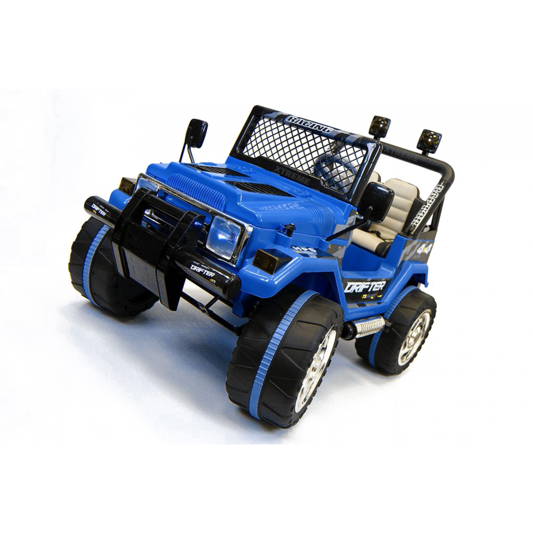 Xtreme 12v Ride on Off-Road Jeep in Blue