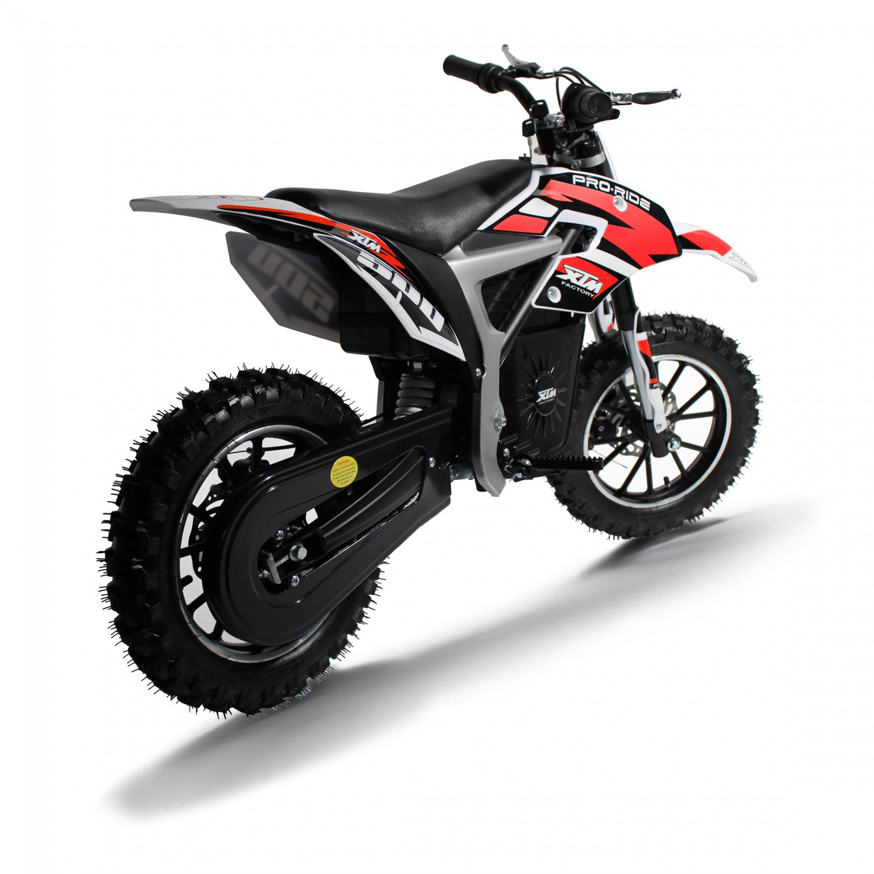 XTM PRO-RIDER 36V 500W LITHIUM DIRT BIKE RED