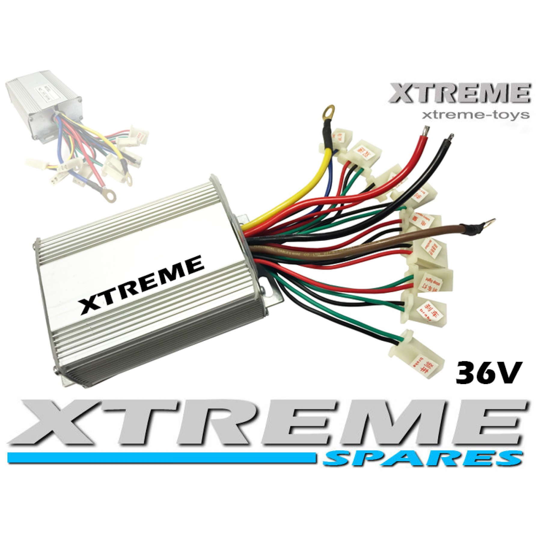 Xtreme Toys Evo E Bike 24v Wiring Diagram Electric Mini Quad Speed Controller 36v 800w Atv Monster Type 2