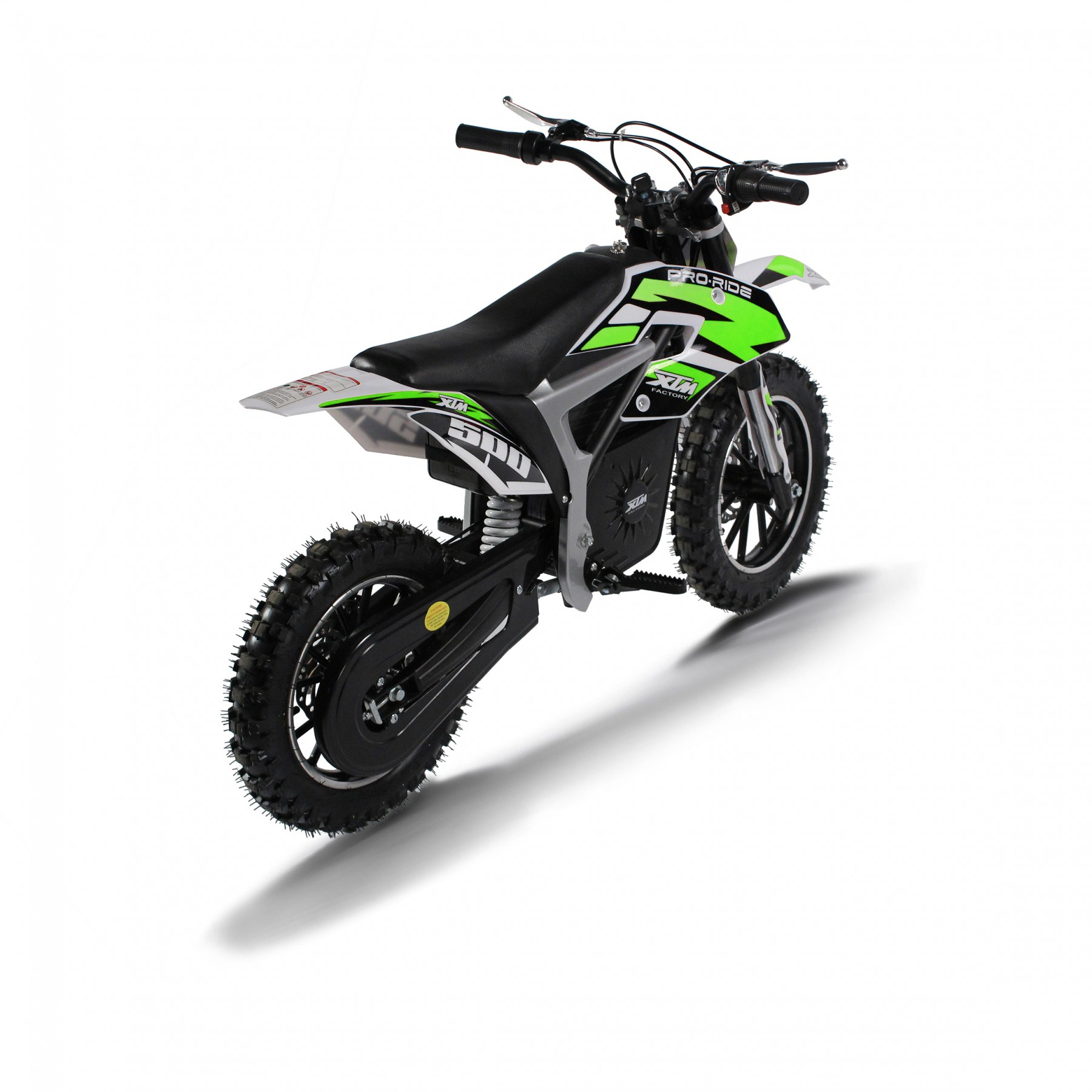 XTM PRO-RIDER 24V 500W DIRT BIKE GREEN