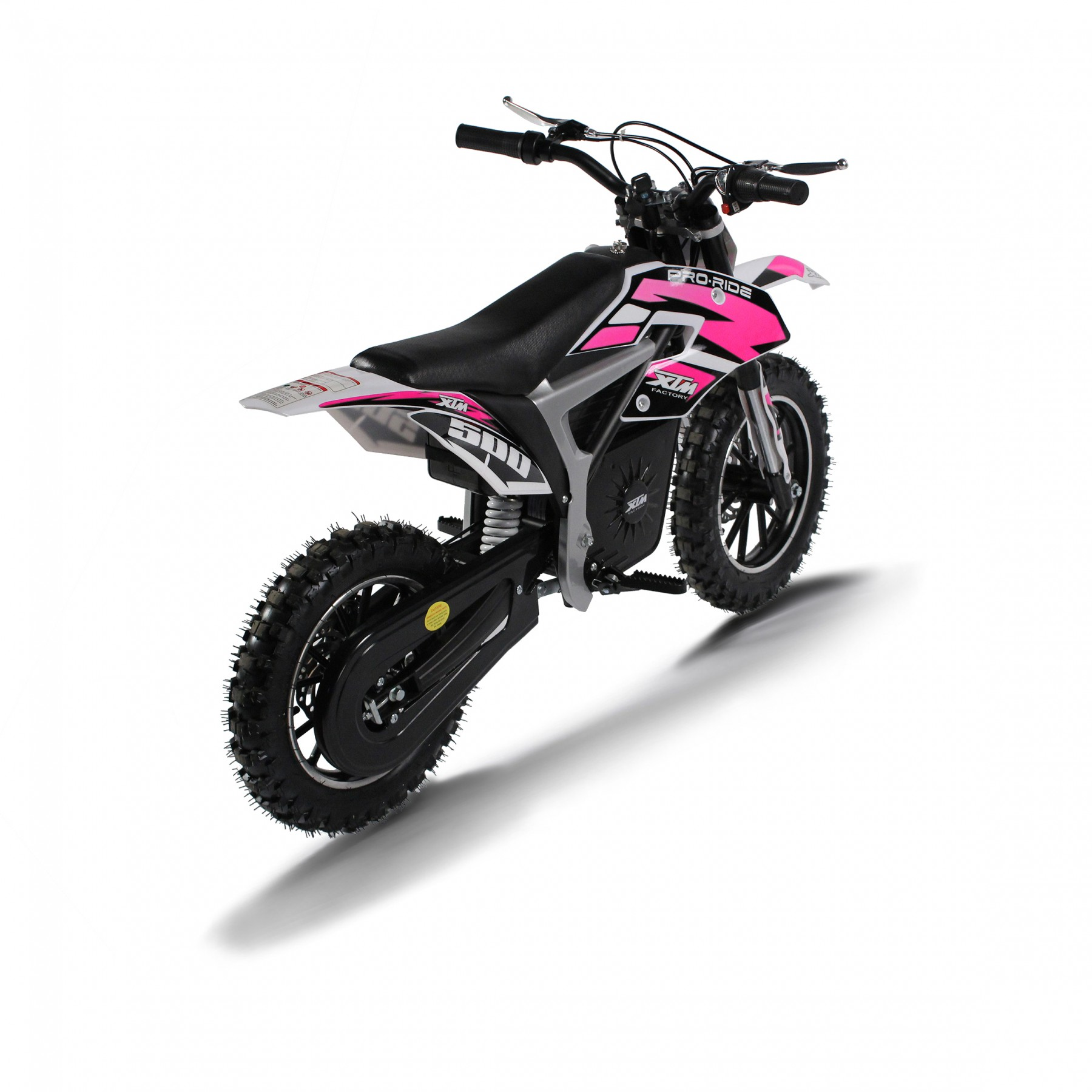 XTM PRO-RIDER 36V 500W LITHIUM DIRT BIKE PINK