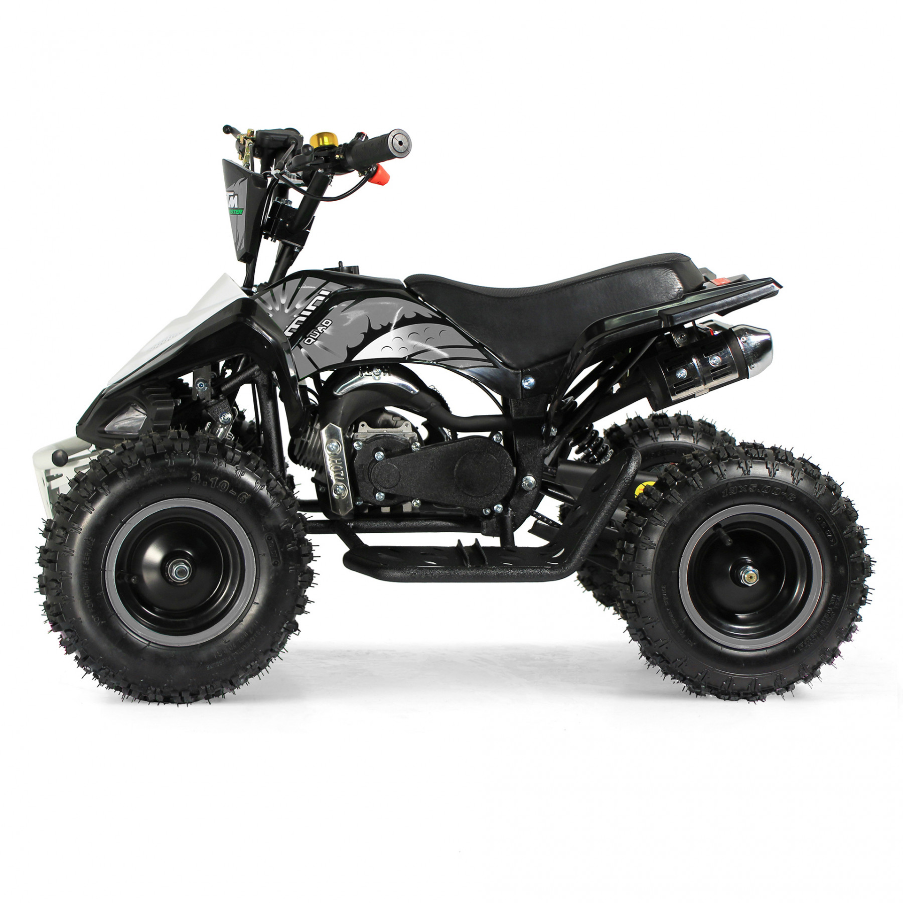 XTM MONSTER 50cc QUAD BIKE BLACK SILVER