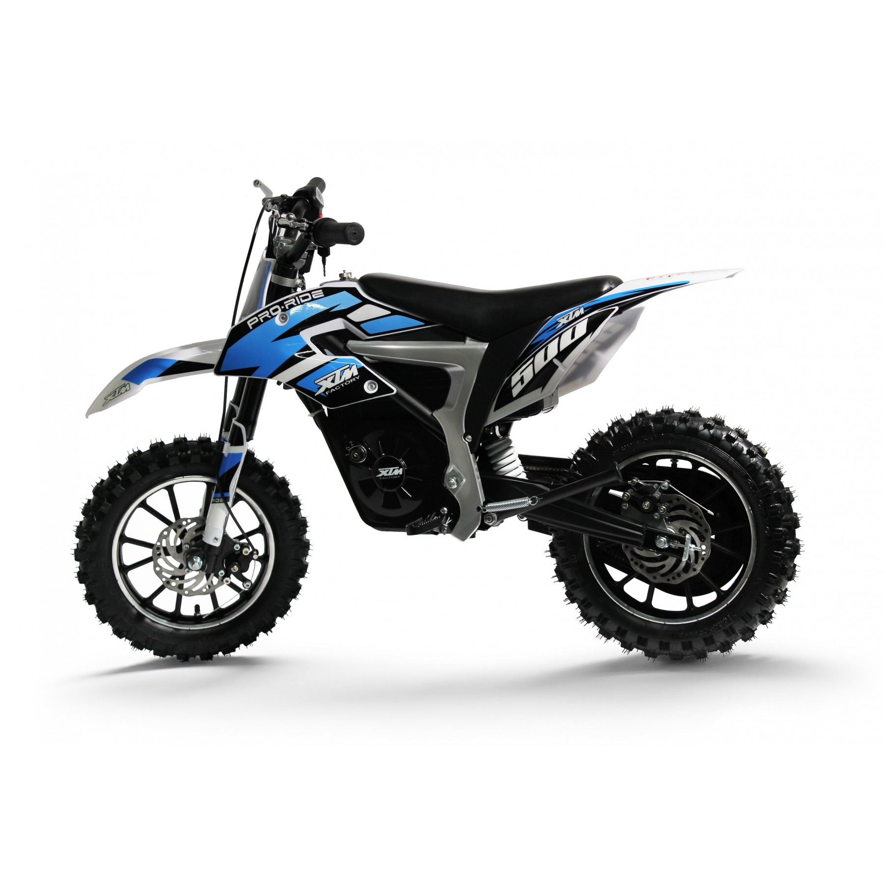 XTM PRO-RIDER 36V 500W LITHIUM DIRT BIKE BLUE