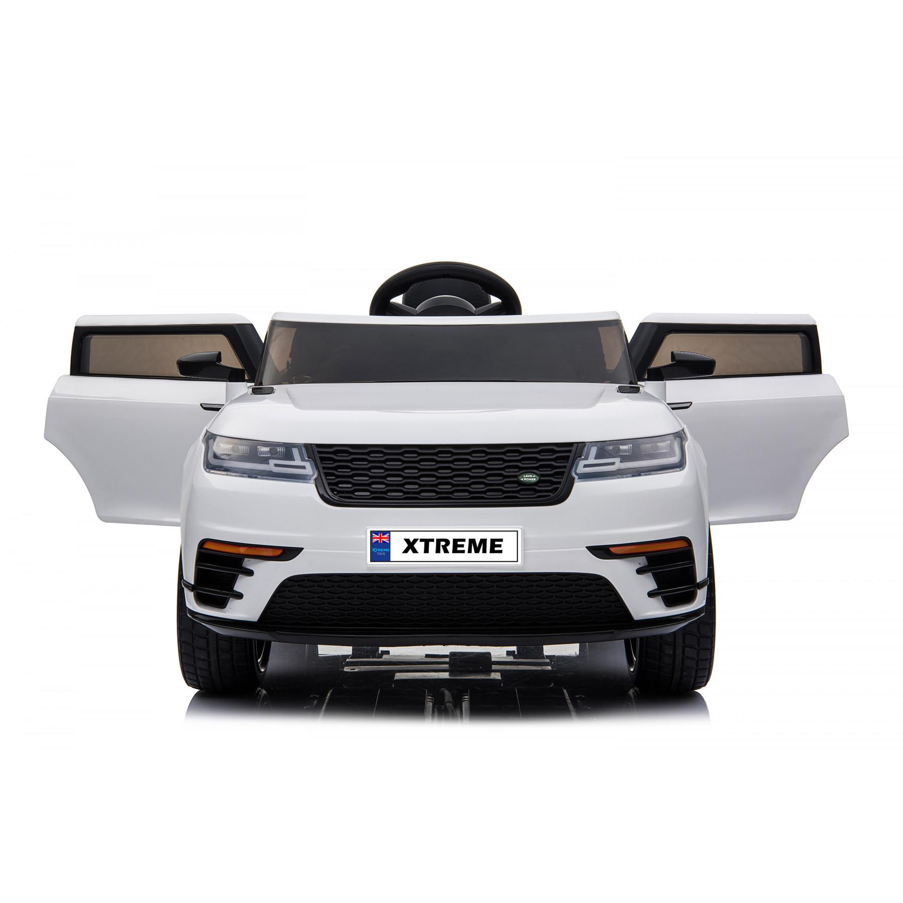 Xtreme 12V  Range Rover Velar Sport Style Ride on Electric Car White