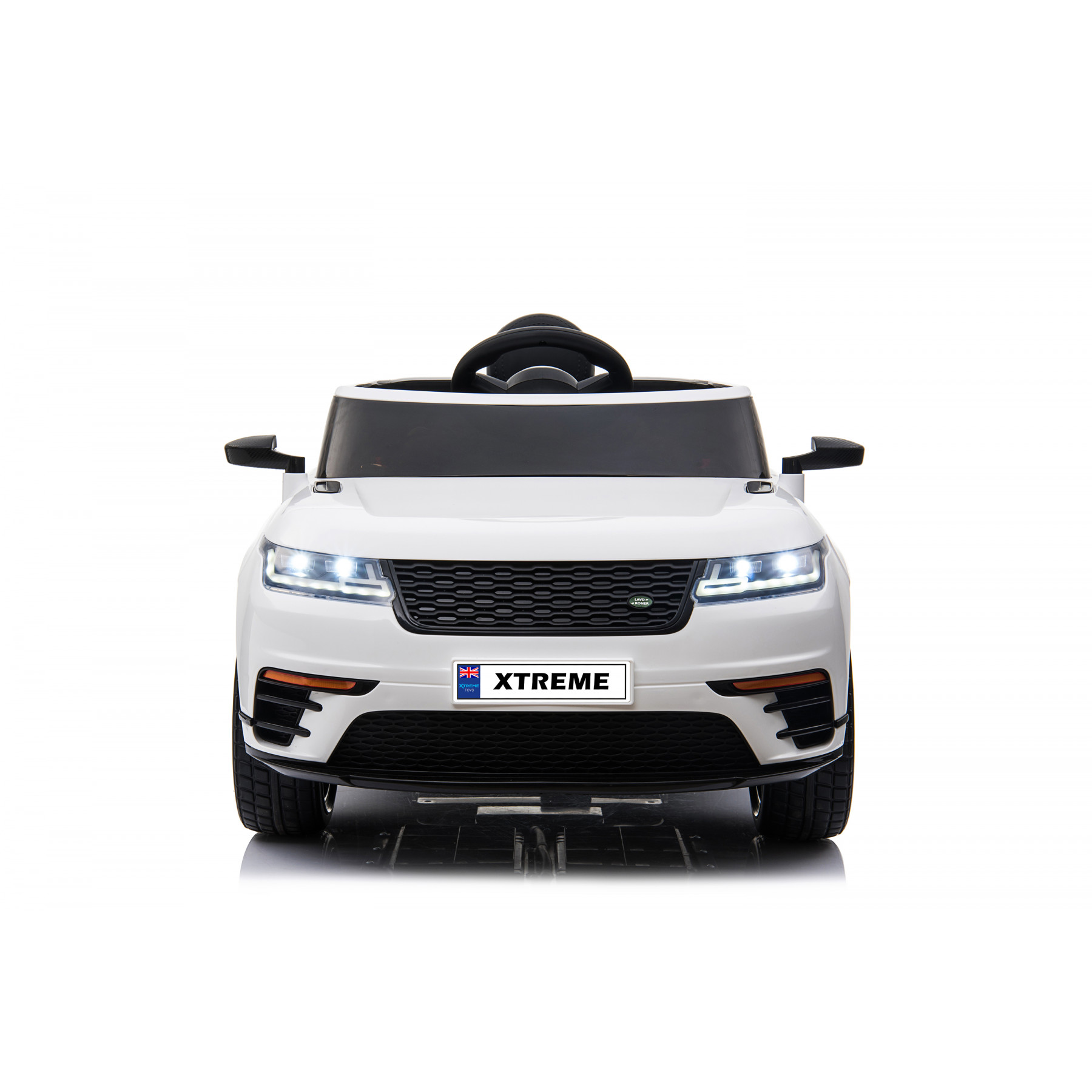 Xtreme 12V RR Sport Style Ride on Electric Car White