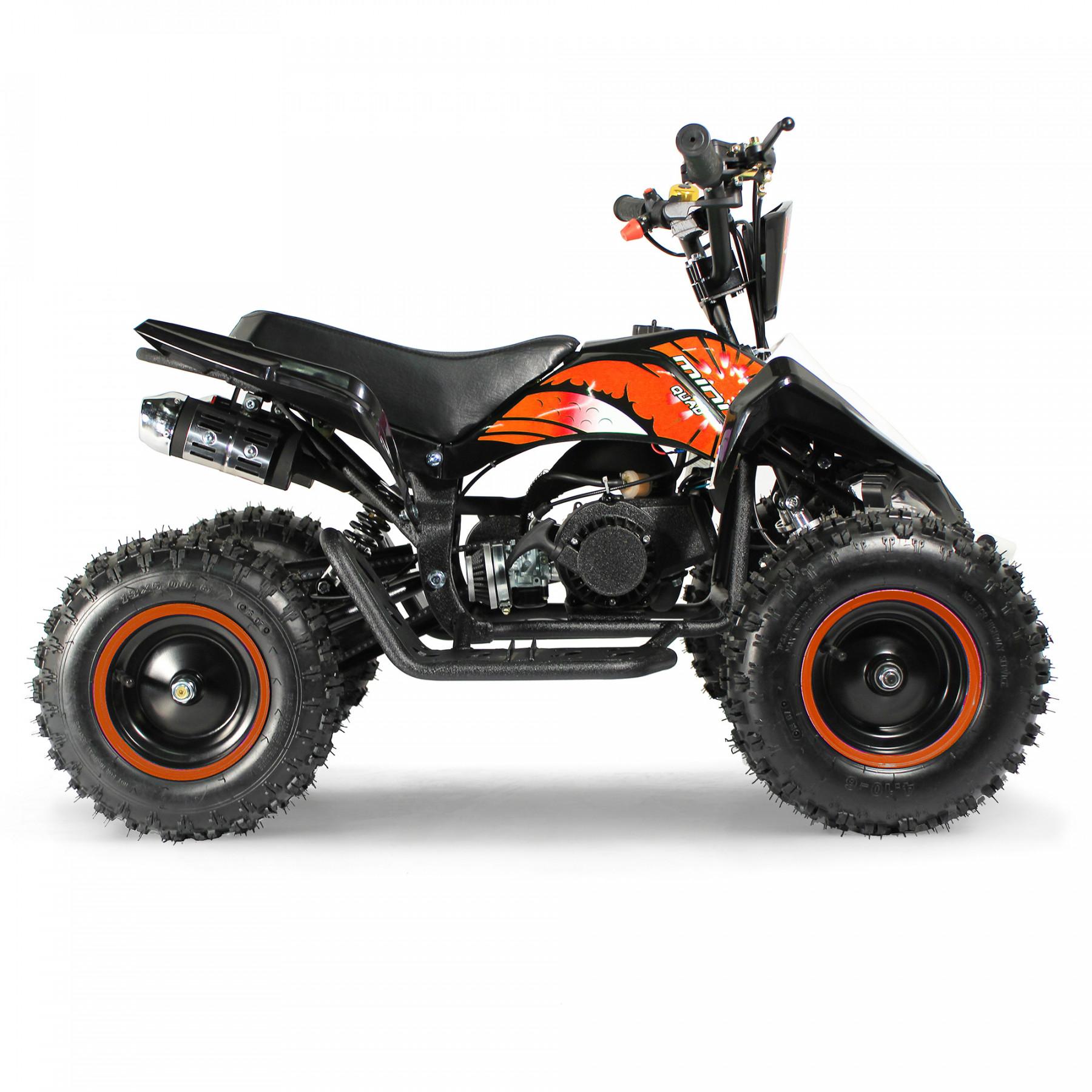 XTM MONSTER 50cc QUAD BIKE BLACK ORANGE