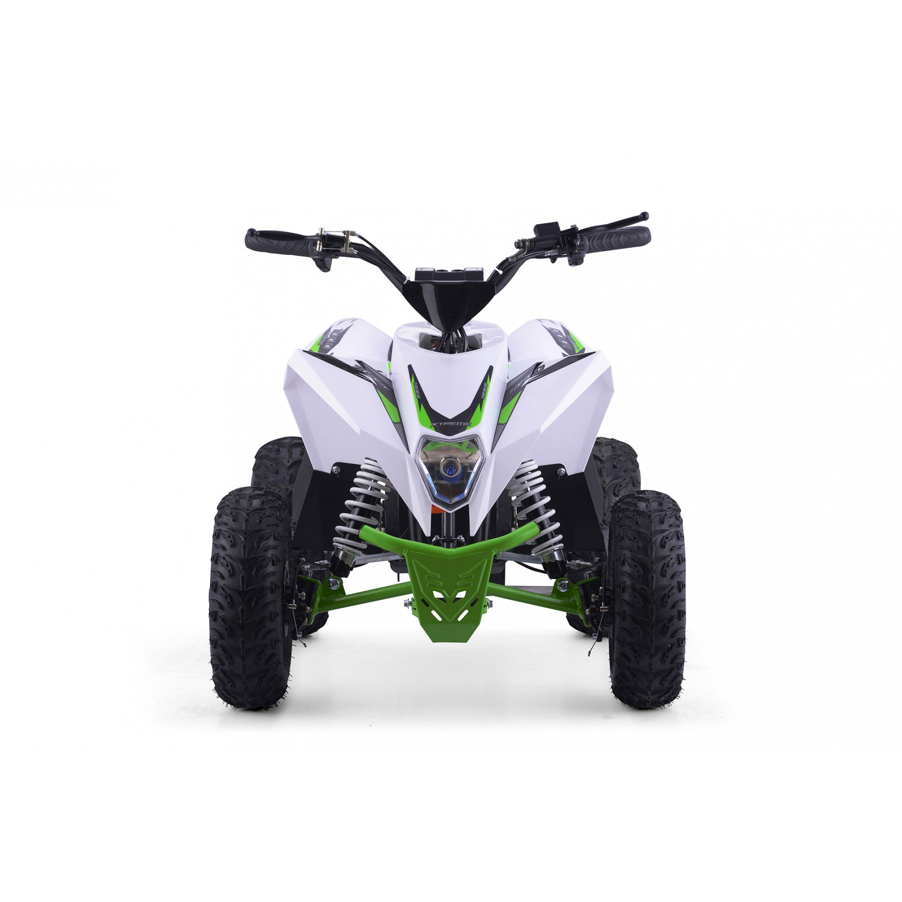 XTM RACING 1000w QUAD BIKE WHITE GREEN