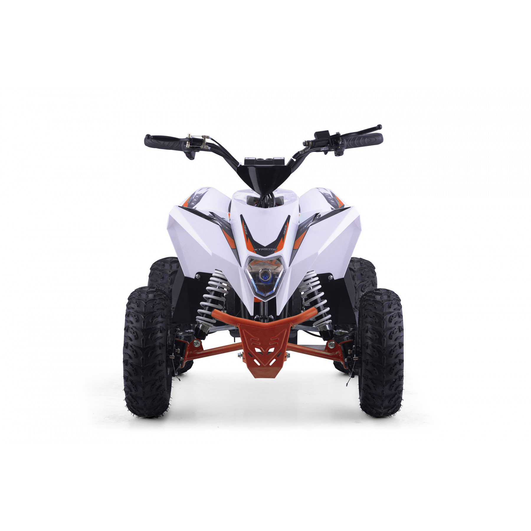 XTM RACING 48v 1300w LITHIUM QUAD BIKE WHITE ORANGE