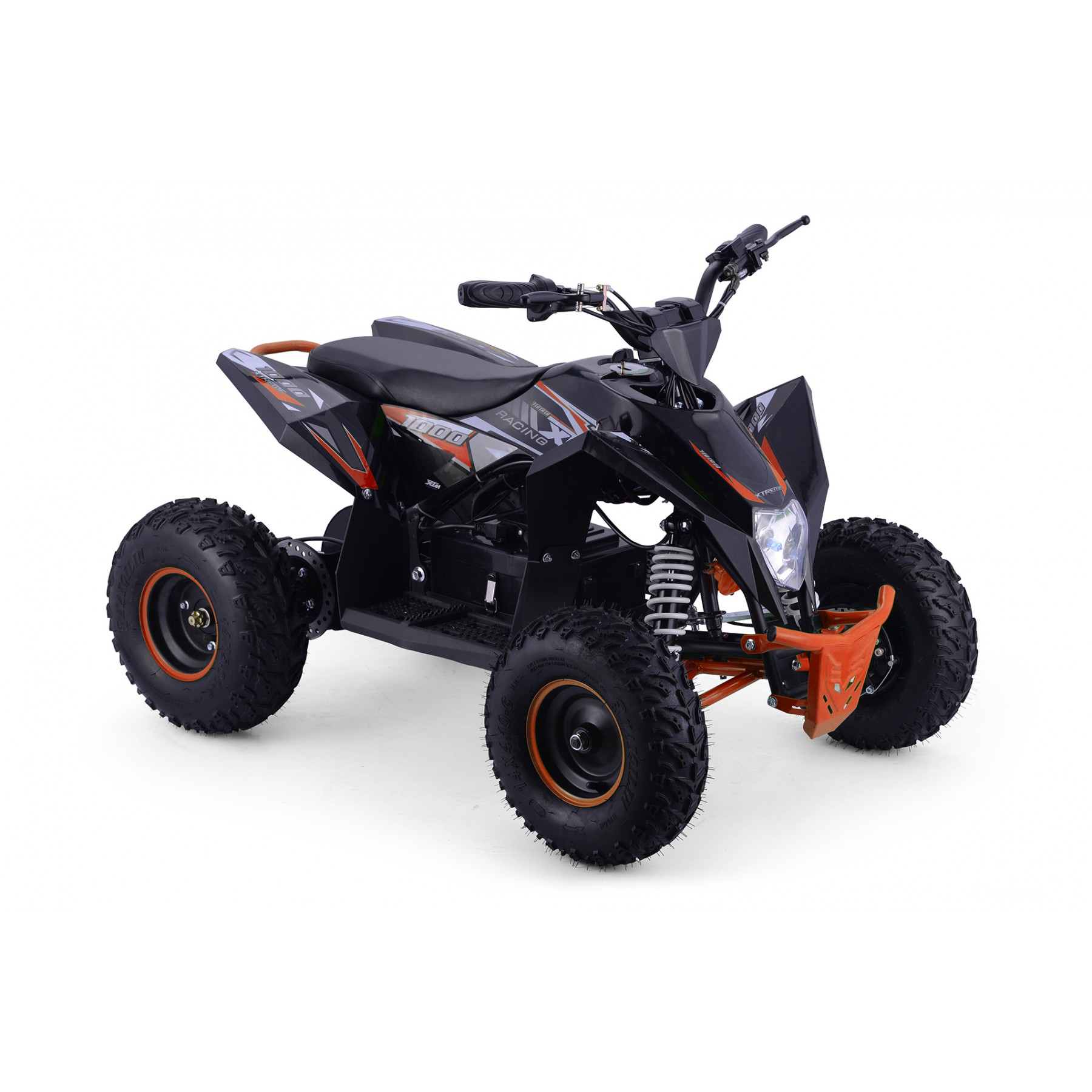 XTM RACING 1000w QUAD BIKE BLACK ORANGE