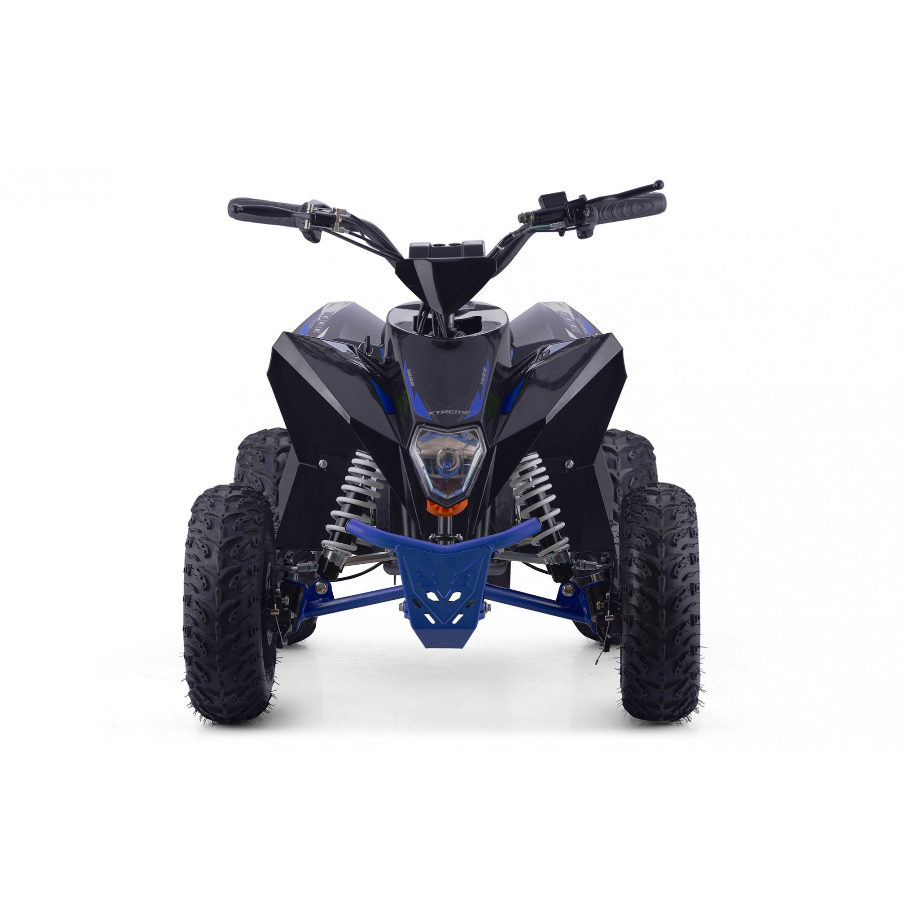 XTM RACING 1000w QUAD BIKE BLACK BLUE