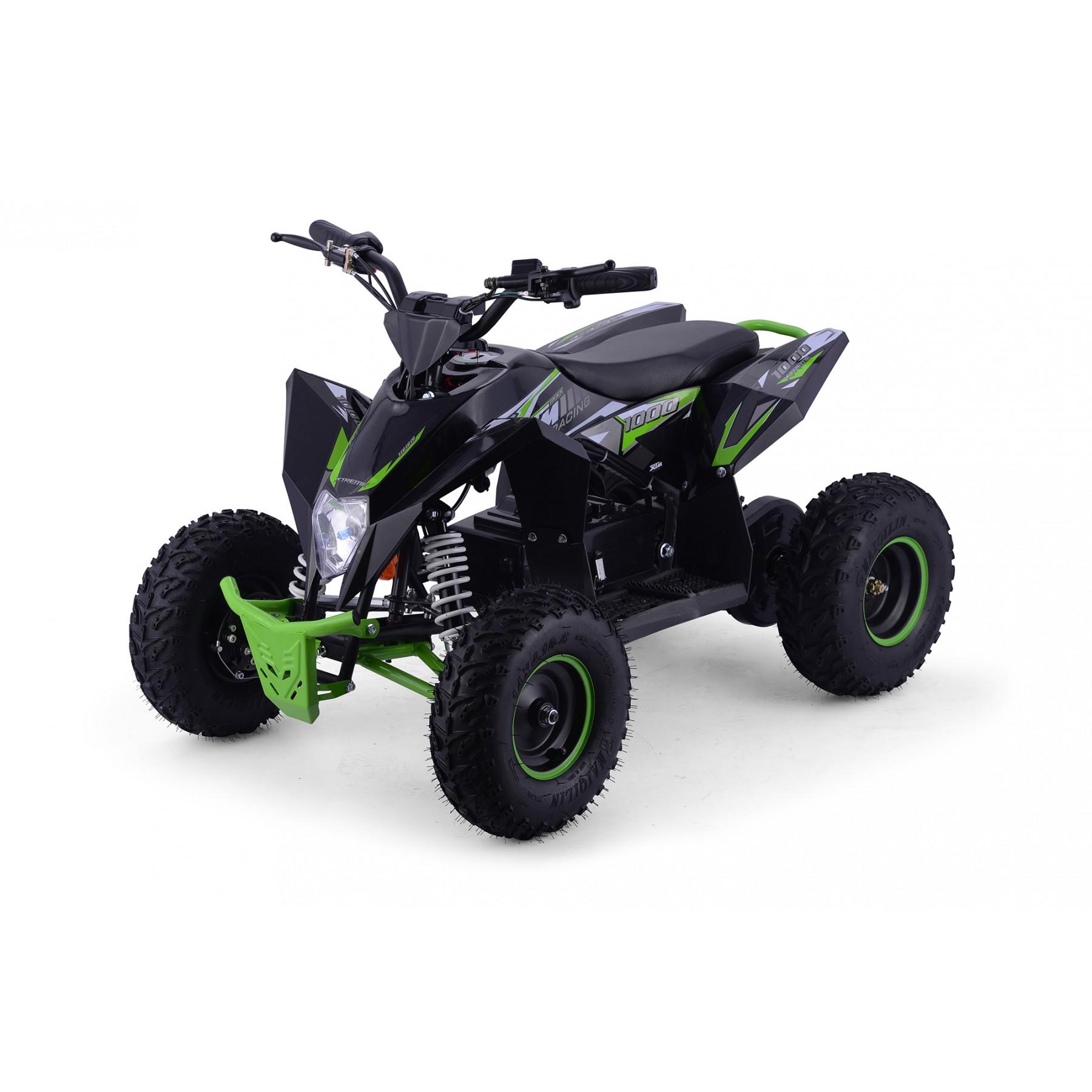 XTM RACING 1000w QUAD BIKE BLACK GREEN