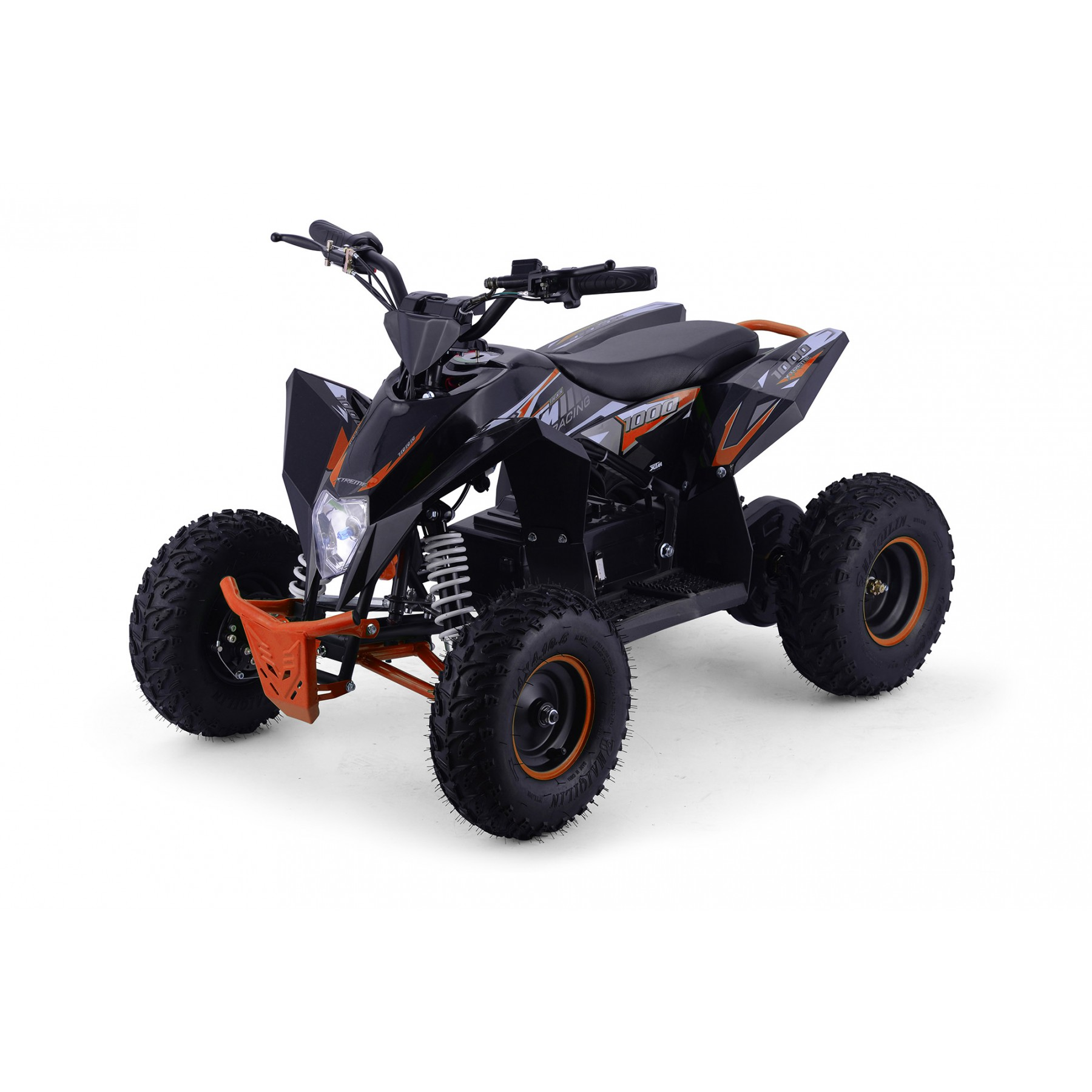 XTM RACING 48v 1300w LITHIUM QUAD BIKE BLACK ORANGE
