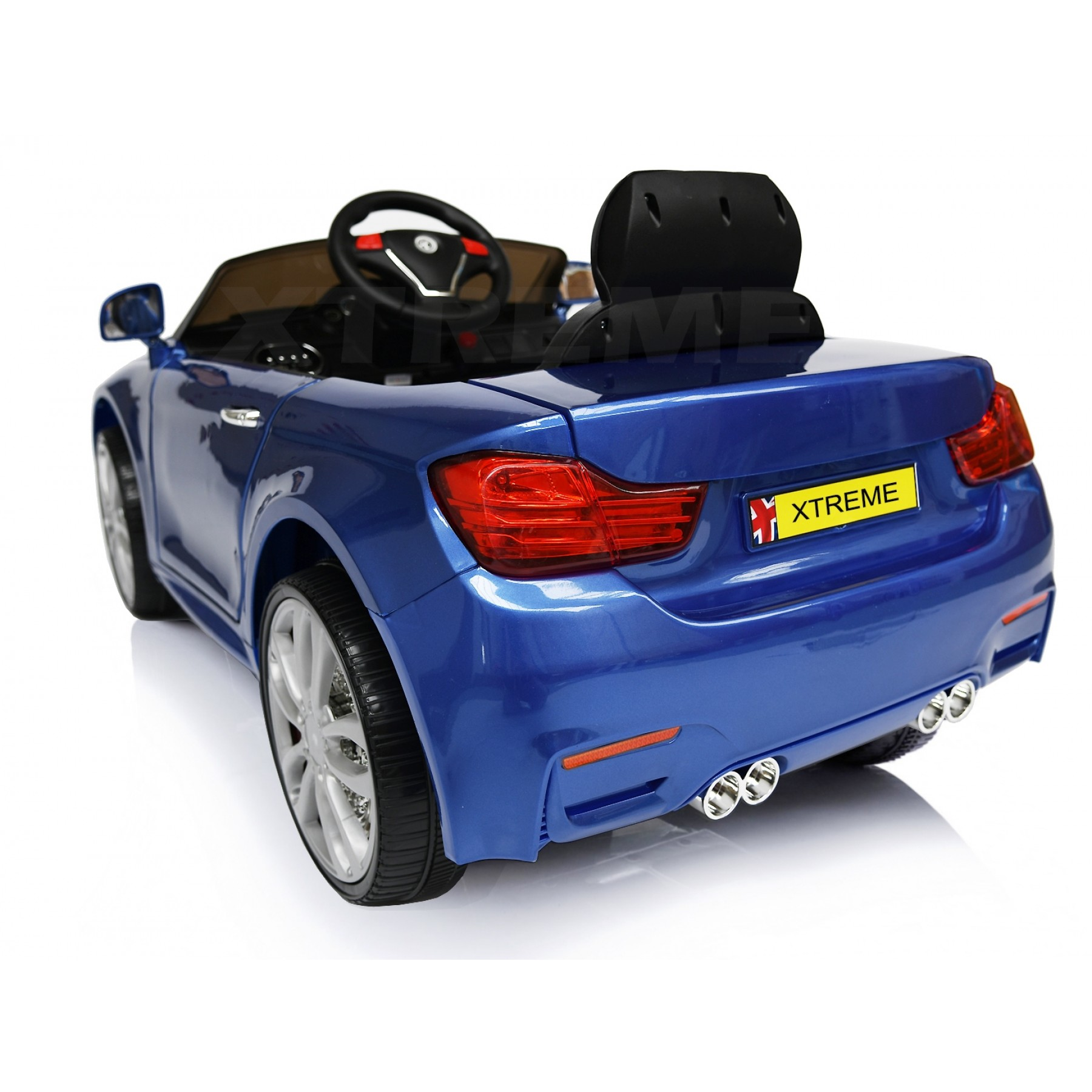 Xtreme 12v BMW 4 Series M4 Style Ride on Car in Blue
