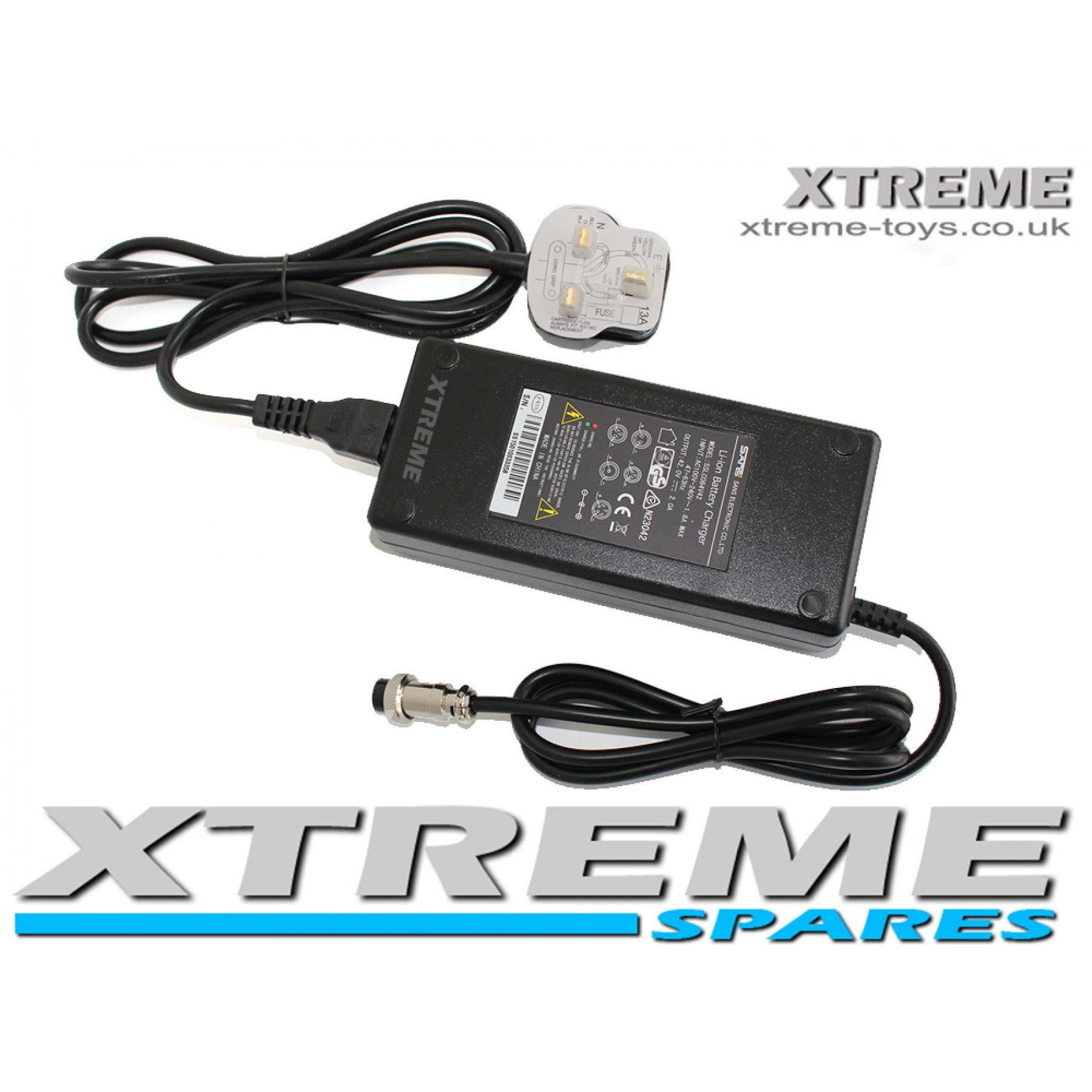 ELECTRIC 36v LITHIUM BATTERY CHARGER MINI QUAD / DIRT / MOTOR BIKE / SCOOTER
