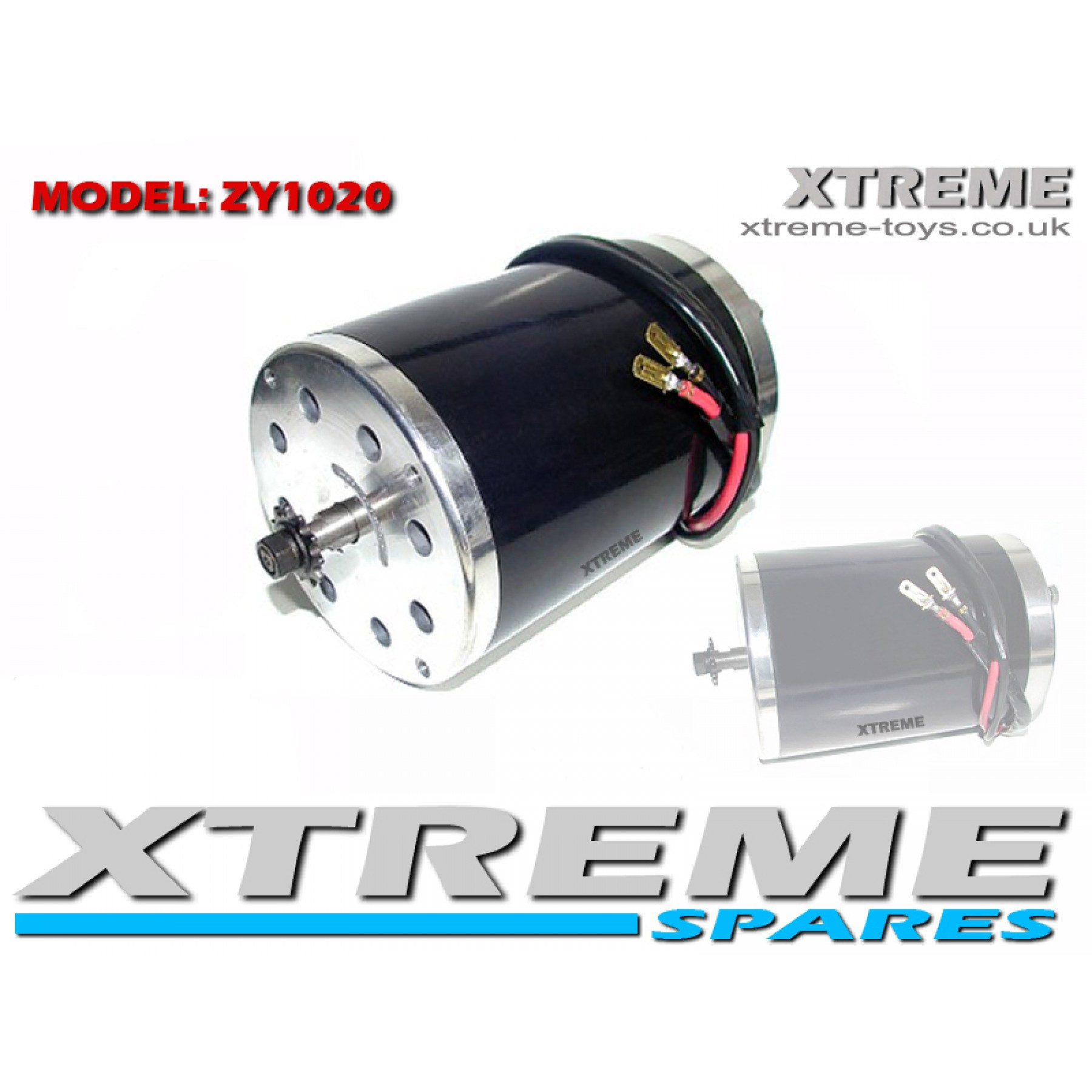 E SCOOTER ZY1020 36v 500w MOTOR WITH 11 TOOTH SPROCKET FOR #25 CHAIN GO PED/ DIRT BIKES/ QUAD