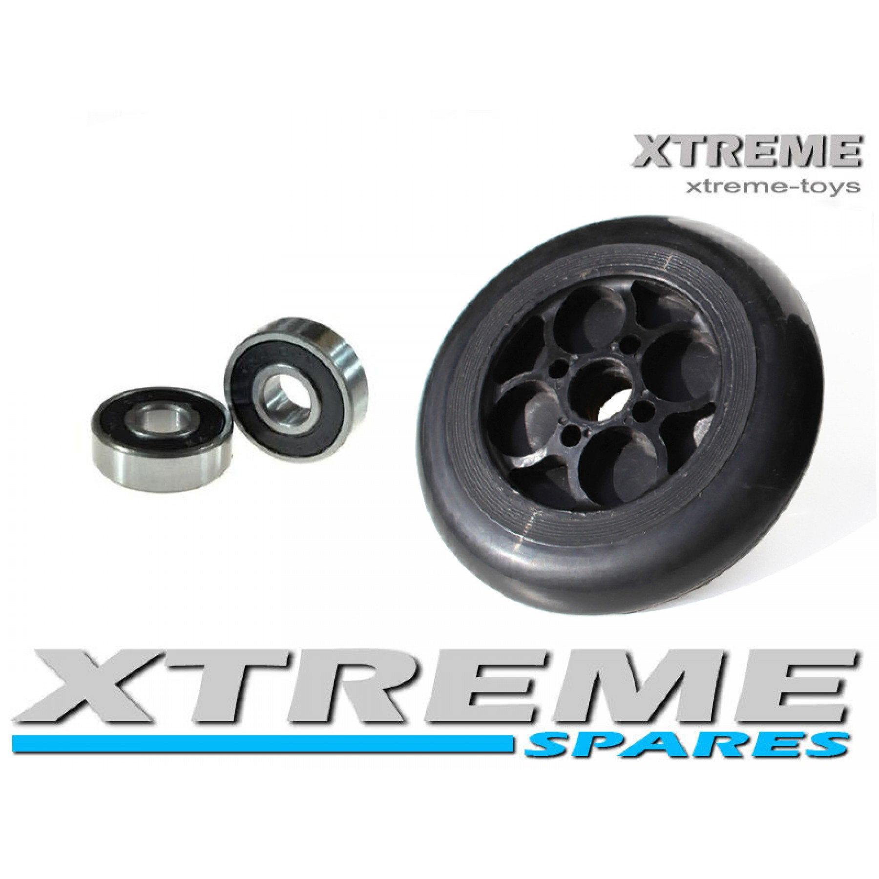 ELECTRIC E SCOOTER FRONT WHEEL WITH BEARINGS XTREME 24V