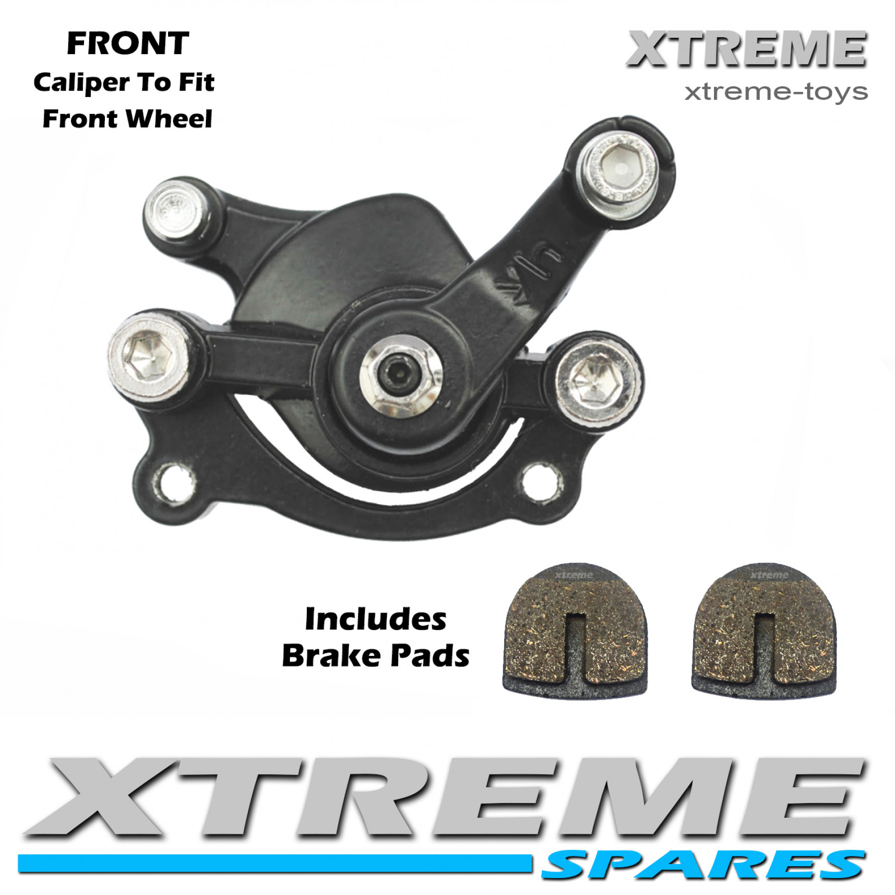 MINI MOTO DIRT BIKE FRONT BRAKE CALIPER 50cc