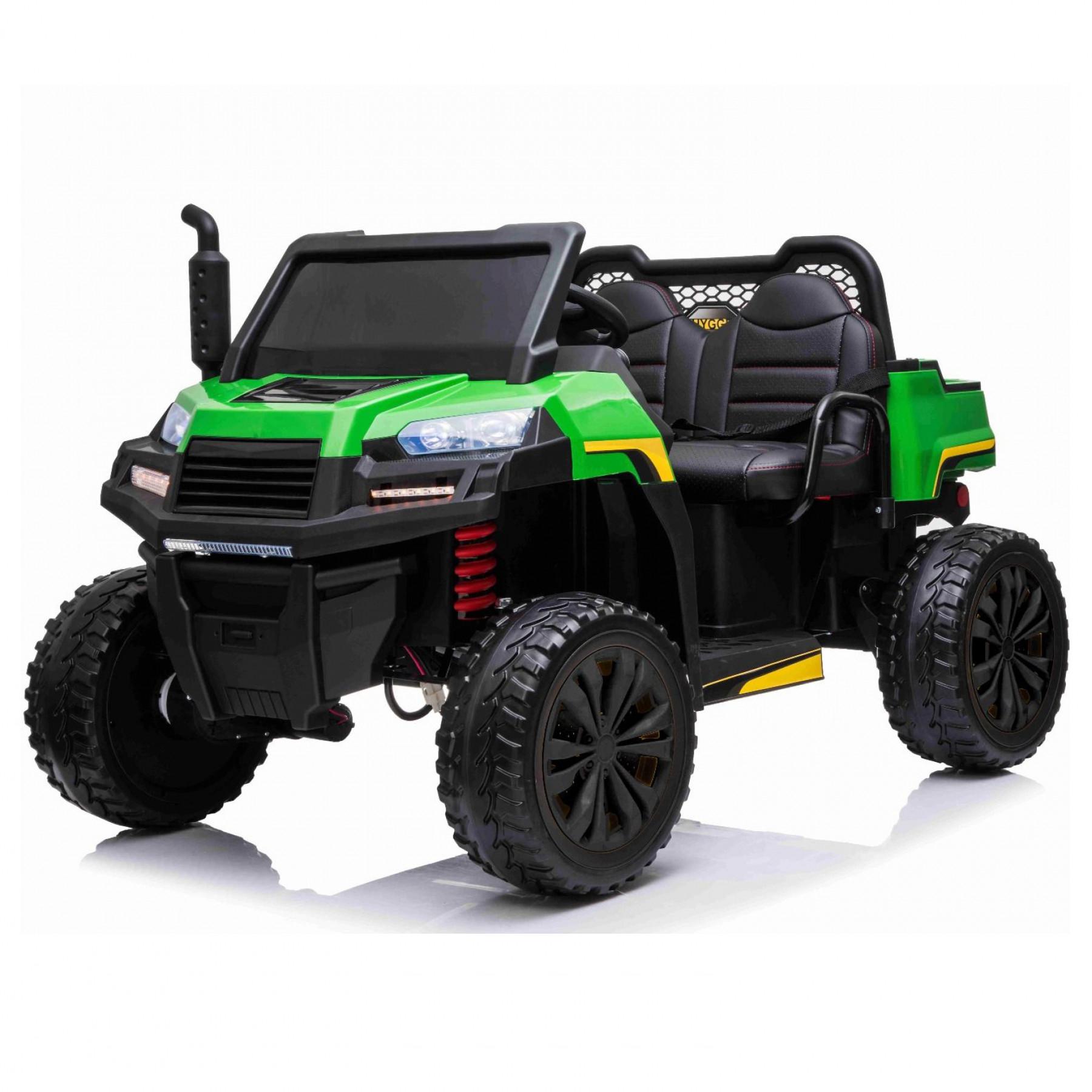 Xtreme BIG 24V 4WD Ride on Utility Truck UTV Jeep Green