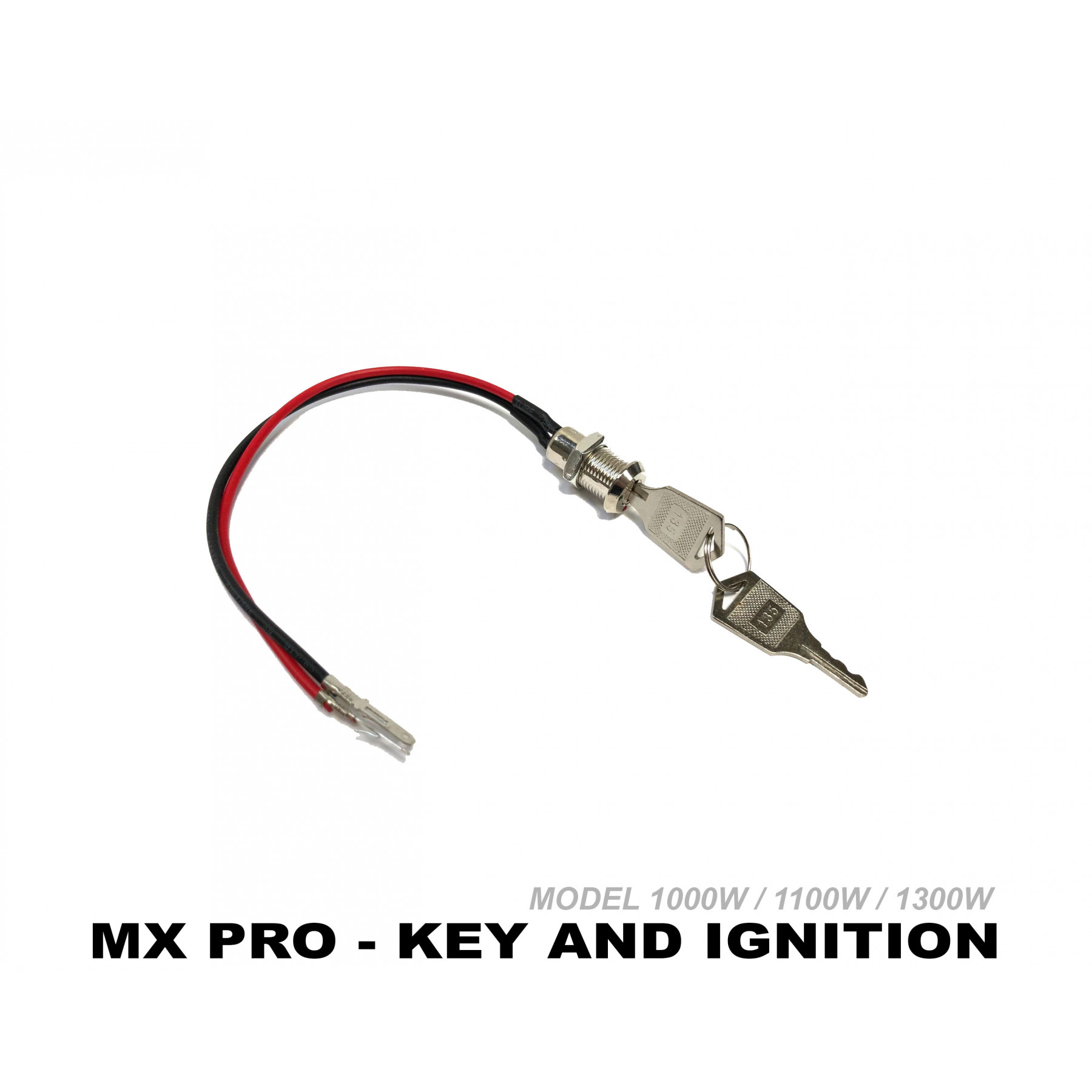 XTREME ELECTRIC XTM MX-PRO 36V REPLACEMENT KEY IGNITION AND KEY