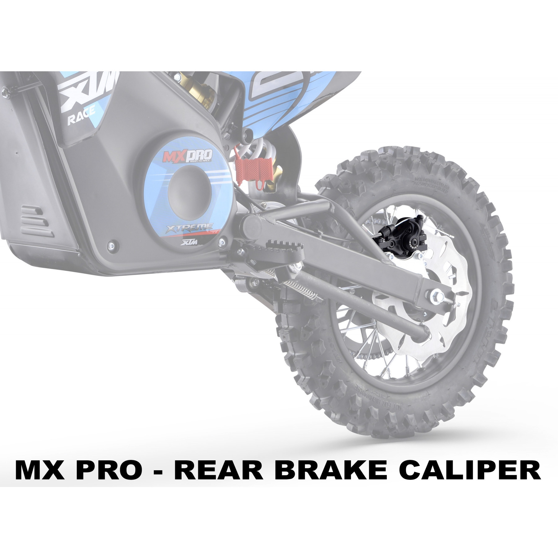 XTREME ELECTRIC XTM MX-PRO 36V REPLACEMENT REAR BRAKE CALIPER