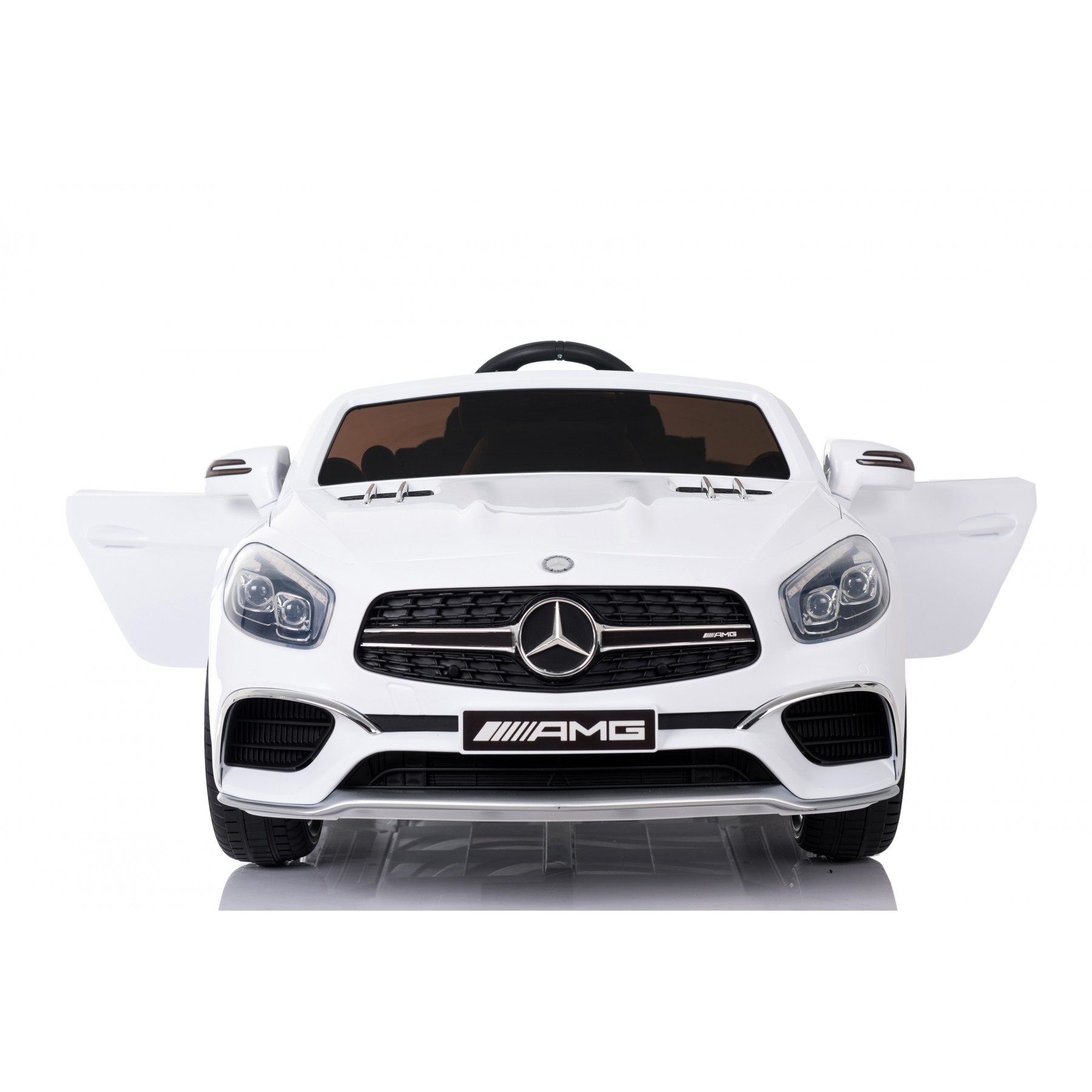 Xtreme 12v Licensed Mercedes-Benz SL65 AMG Coupe Ride on Car in White
