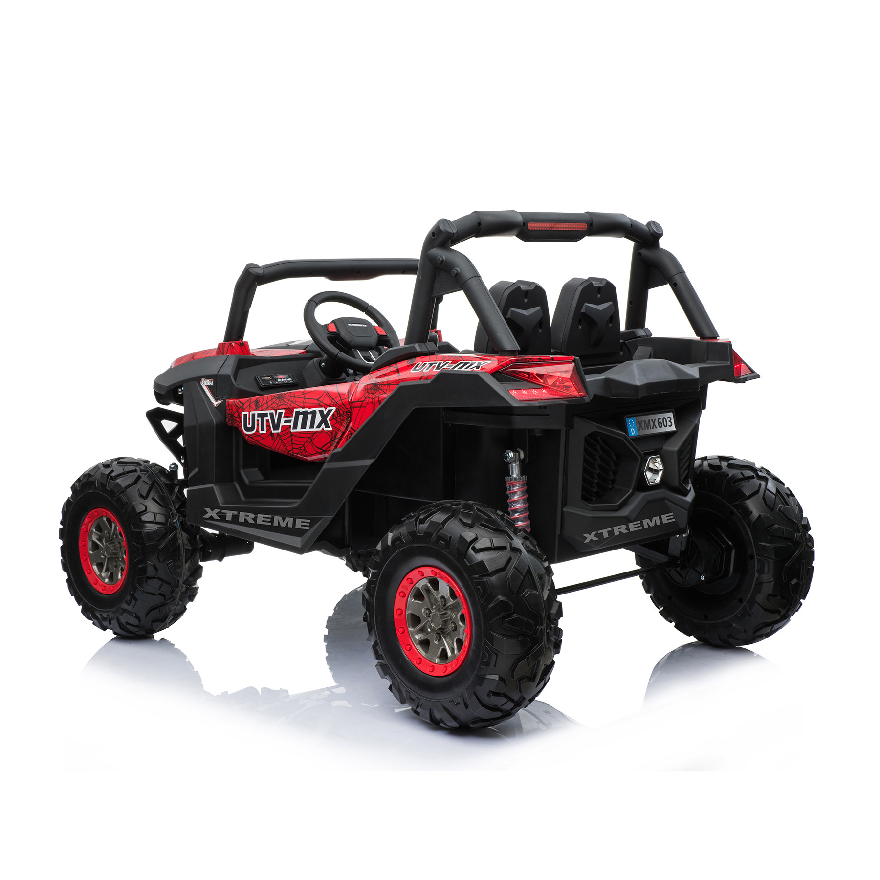 Xtreme 2018 BIG 24v Ride on 4x4 Jeep Spider Red