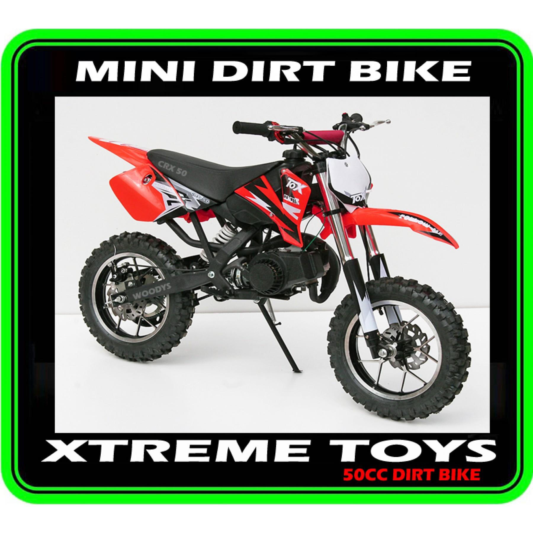 MINI DIRT BIKE CRX / MOTOR BIKE RED PLASTICS KIT